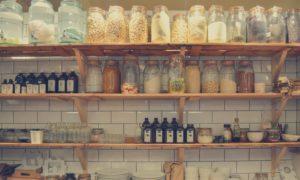 Dózy na skladování potravin