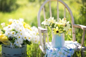 Retro zahradní nábytek