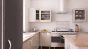 Kuchyně v severském stylu