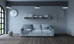 Obývák v severském stylu