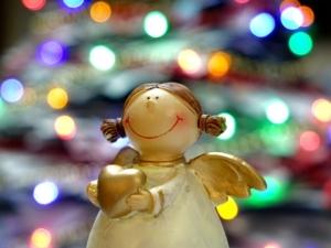 Vánoce ozdoba anděl