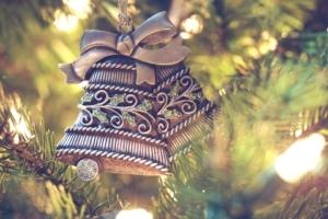 Vánoce ozdoba zvonky