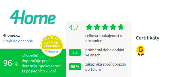 4home Heuréka hodnocení 2