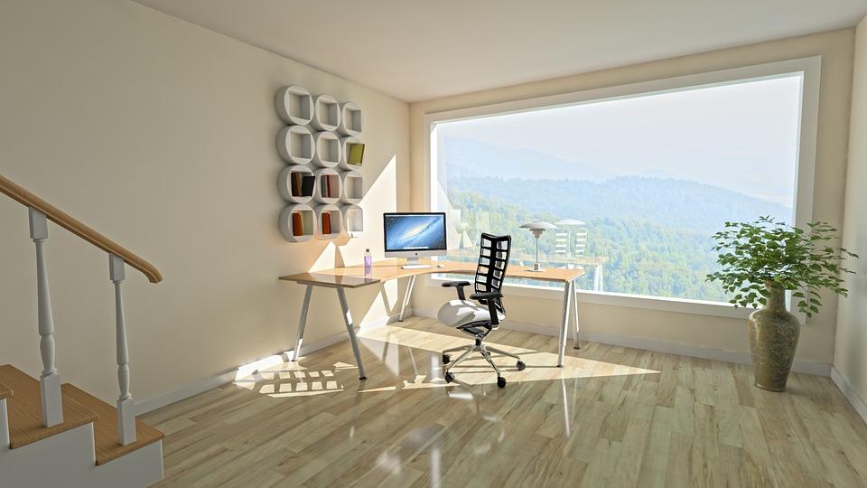 Moderní interiér podlaha