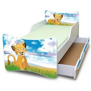 Dětská postel Lvíček