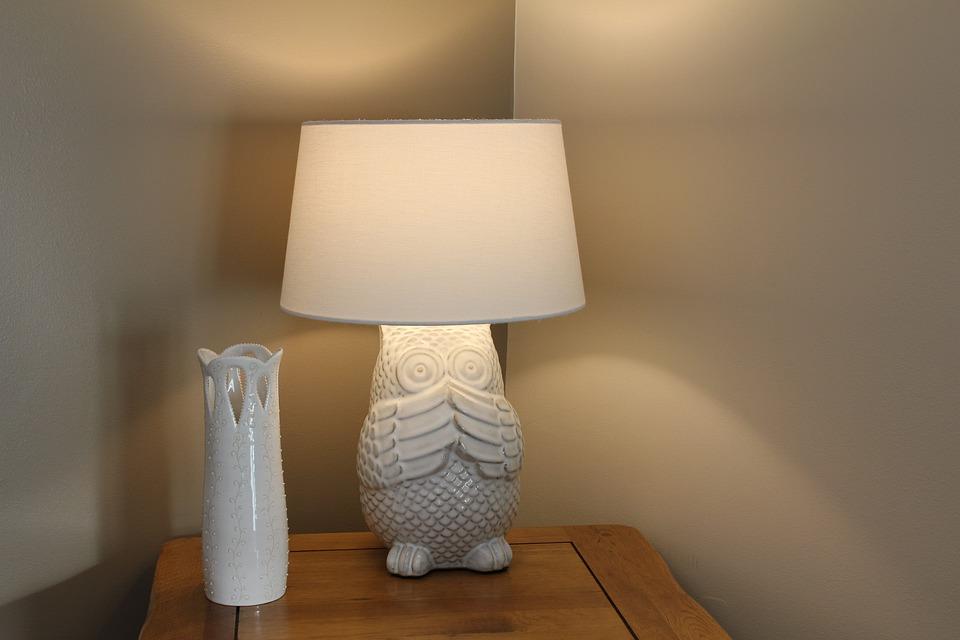 Noční lampa sova
