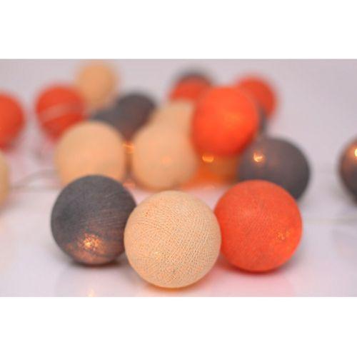 Světelný řetěz Peach Marbles