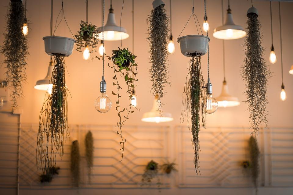 Osvětlení s dekoracemi