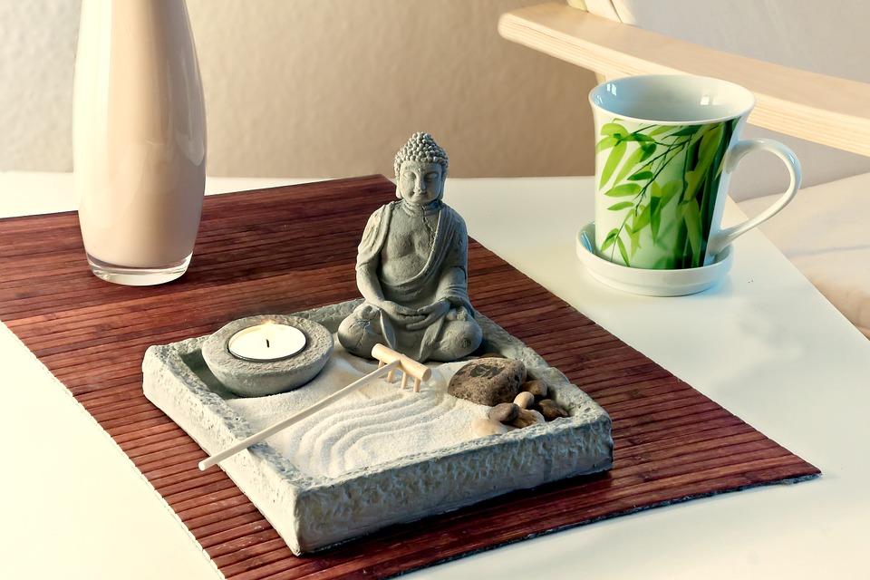 Zenová zahrádka do interiéru