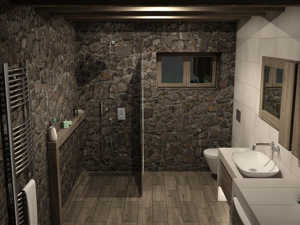 Kamenná koupelna