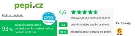 Pepi.cz Heureka