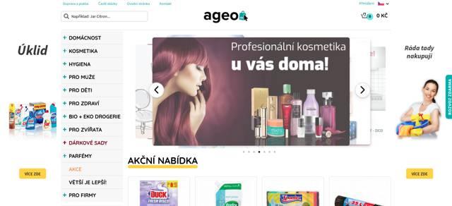 Ageo.cz eshop