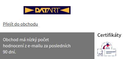 DATART Heureka