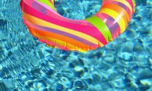 Nafukovací kruh do bazénu