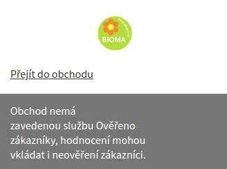Bioma.cz Heureka