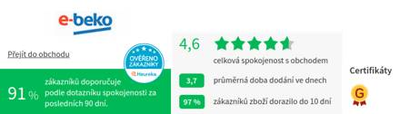 e-beko.cz Heureka