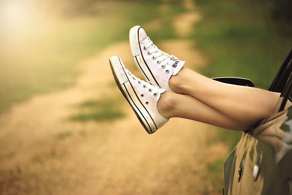 Krásné nohy díky epilátoru