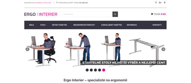 Ergo Interier e-shop