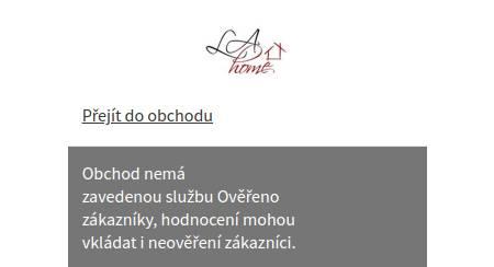 LaHome.cz Heureka