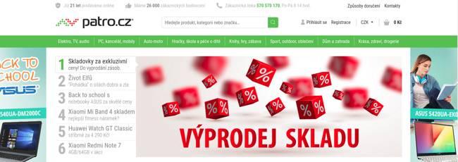 Patro.cz eshop