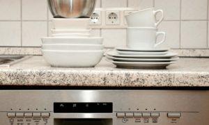 Myčka nádobí s nádobím