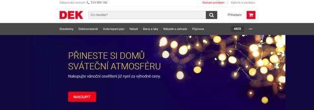 DEK.cz e-shop