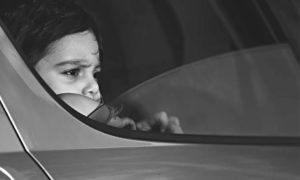 Dítě v autosedačce