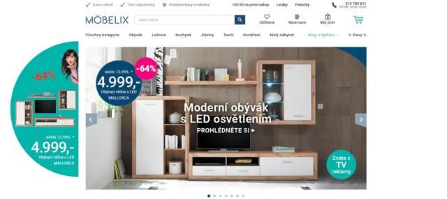 Möbelix.cz e-shop