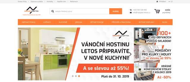 Nabytek-helcel.cz e-shop