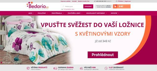 Bedario.cz e-shop