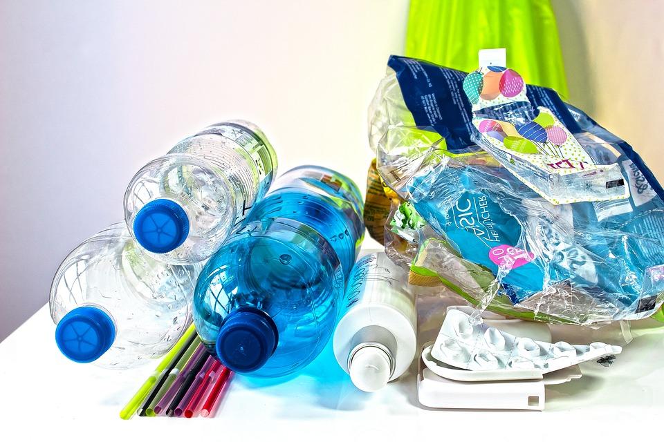 Třídění plastového odpadu