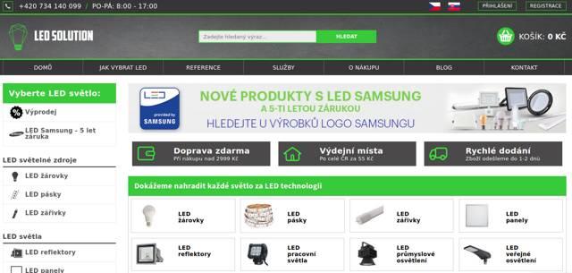 Ledsolution.cz e-shop