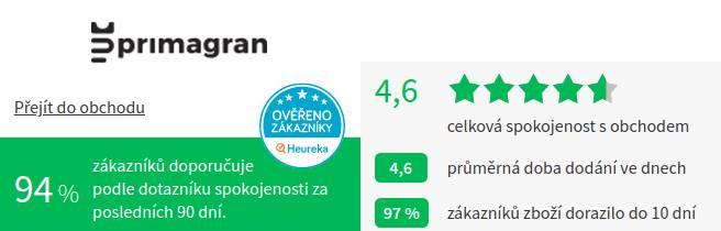 Primagran.cz Heureka
