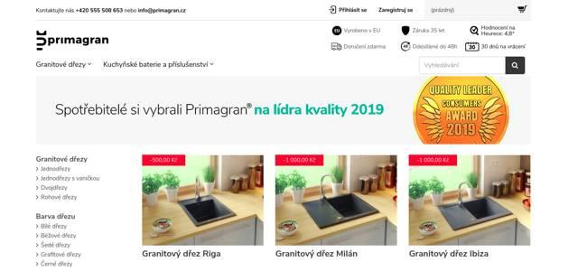 Primagran.cz e-shop