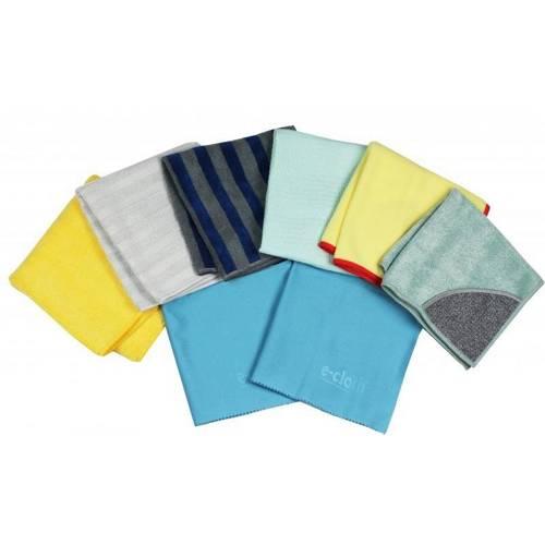 Sada 8 hadříků na úklid E-cloth