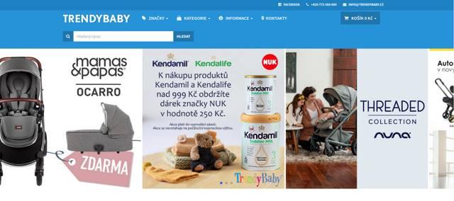 TrendyBaby.cz e-shop