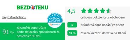 Bezdoteku.cz Heureka
