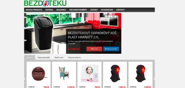 Bezdoteku.cz e-shop
