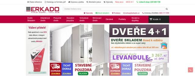 Dveře ERKADO e-shop