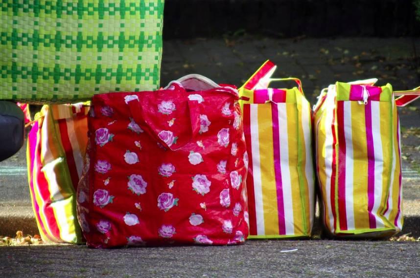 Nákupní tašky nesmí v ekologické domácnosti chybět
