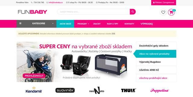FunBaby.cz e-shop