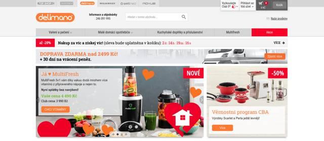 Delimano.cz e-shop