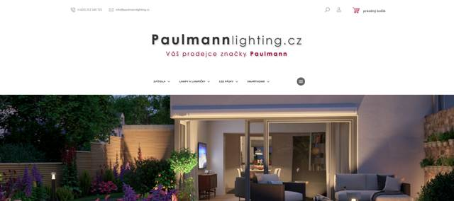 Paulmannlighting.cz e-shop