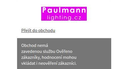 Paulmannlighting.cz Heureka