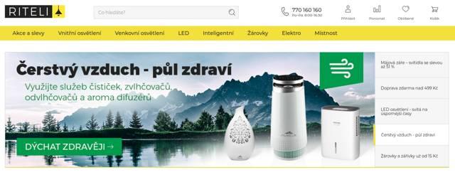 Riteli.cz e-shop