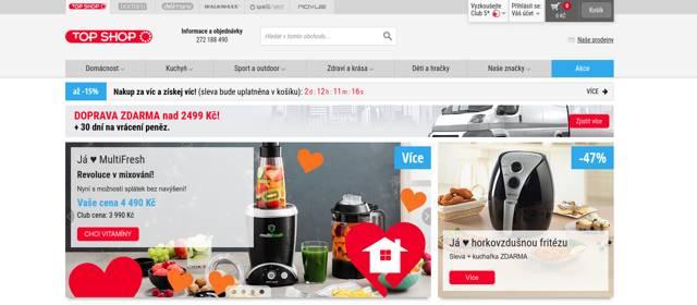 TopShop.cz e-shop