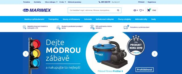 Marimex.cz e-shop