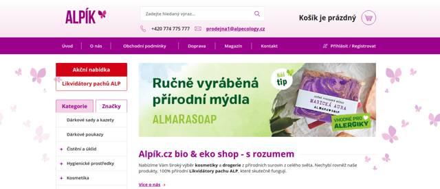 Alpík.cz e-shop