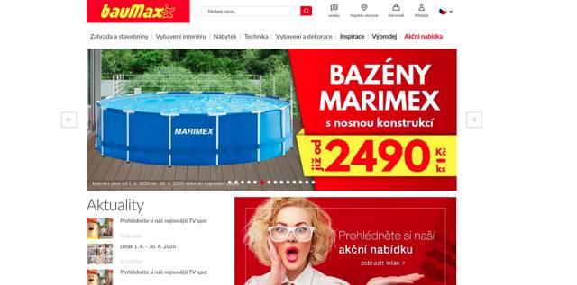 Baumax.cz e-shop