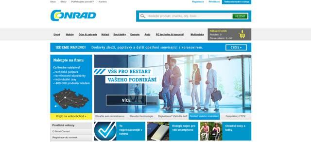 Conrad.cz e-shop